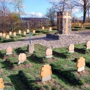 Vojnový cintorín I. svetovej vojny becherov