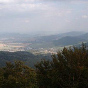 Stebnícka Magura - 900 m n. m.