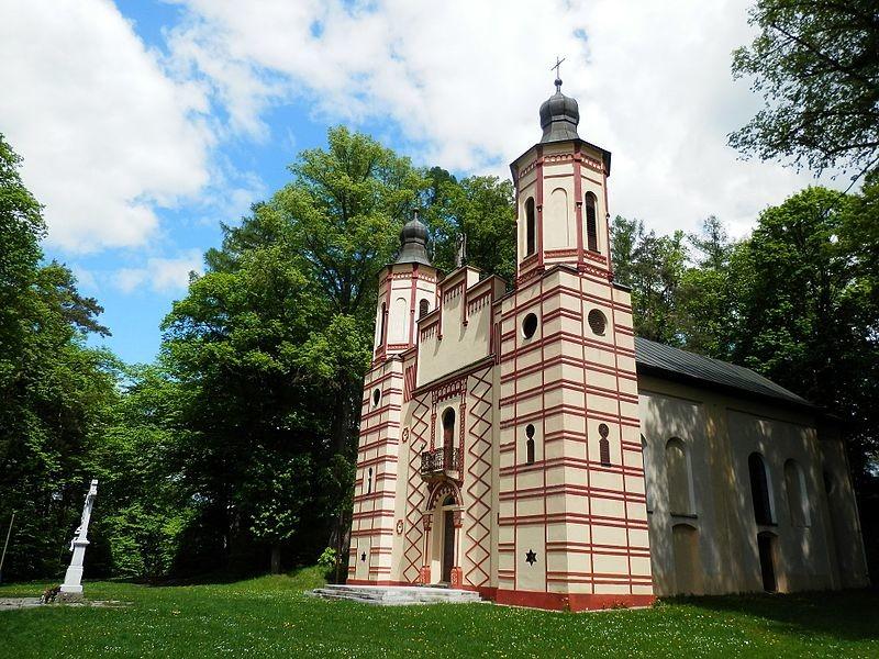 Kalvária - Kostol sv. Kríža