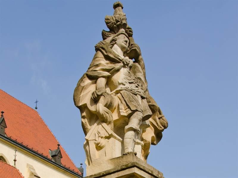 Socha sv. Floriána
